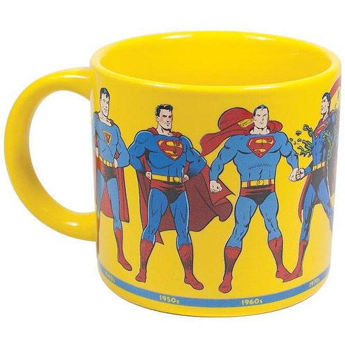 Superman Through the Years Mug