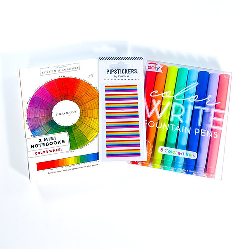 Fountain Pen Rainbow Writer Kit