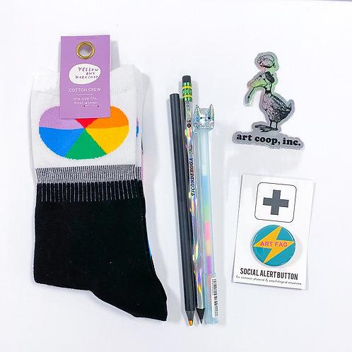 Rainbow Wheel Queerantine Kit
