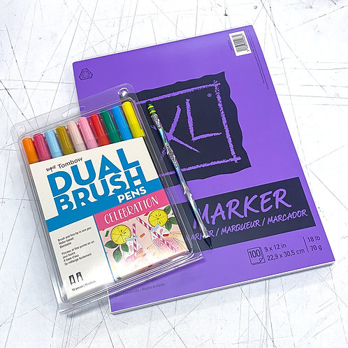 XL Dual Brush Pen Celebration Kit!