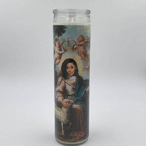 Cardi B Candle