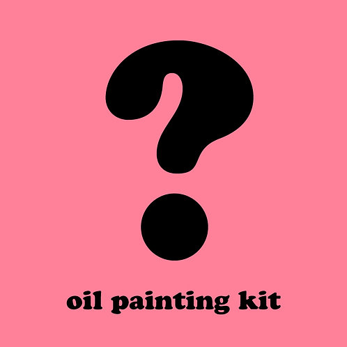 Mystery Oil Painting Kit