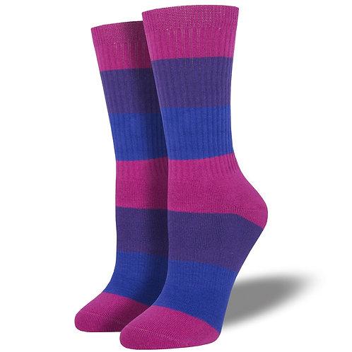 Bi Pride Socks