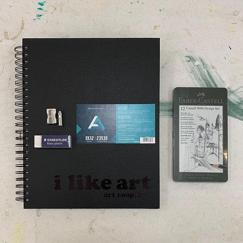 I Like Art & Graphite Kit