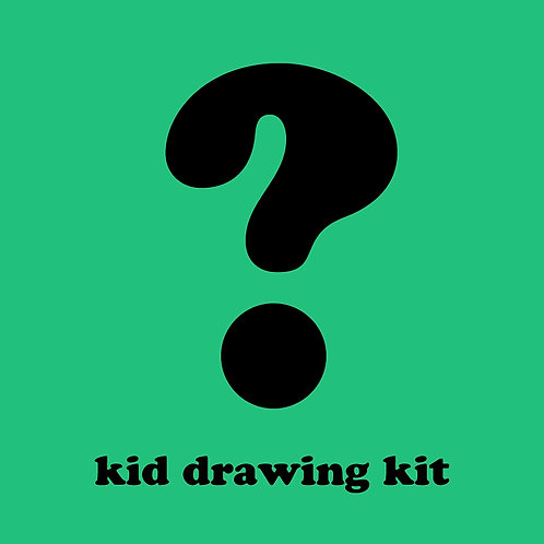Mystery Kid Drawing Kit