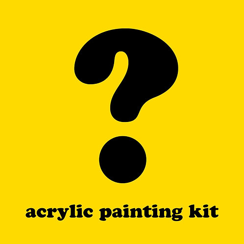 Mystery Acrylic Painting Kit