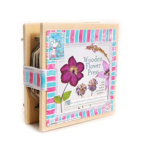 Mini Wooden Flower Press!
