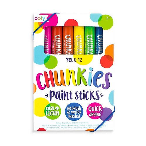 Chunkies Paint Sticks - 12