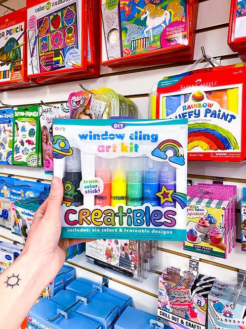 Window Cling Art Kit!
