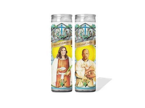 Benson & Tutuola Individual Candles