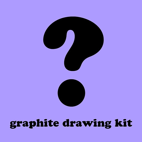 Mystery Graphite Drawing Kit