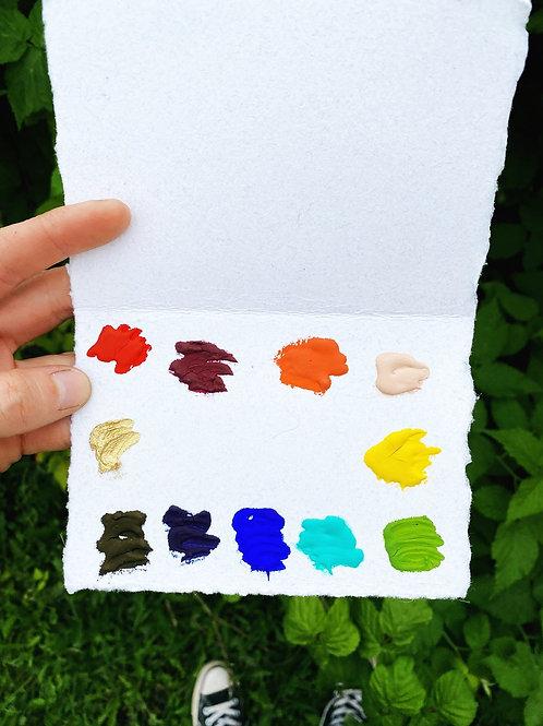 Beam PaintsSpectrum 11 Travel Card