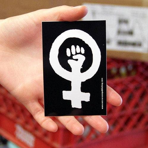 Feminist Solidarity Fist Sticker