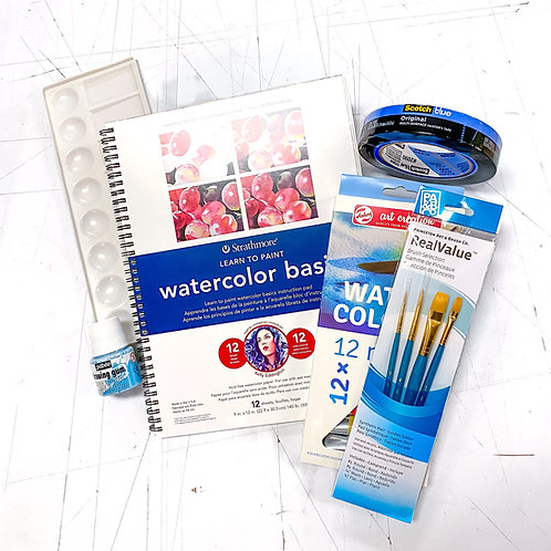 Beginning Watercolor Kit!
