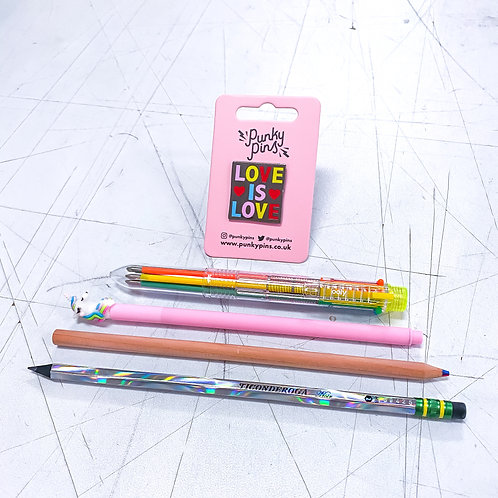 Love is Love Rainbow Writer Kit