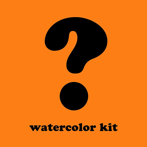 Mystery Watercolor Kit