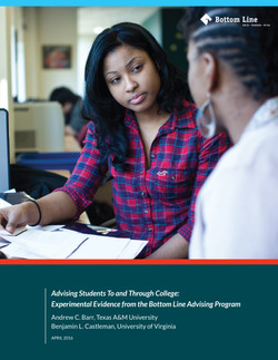 Advising Students To and Through College_COVER