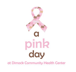 A Pink Day at Dimock Logo