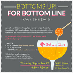 Bottoms Up for Bottom Line Save The Date2