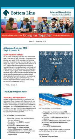 Bottom Line Internal Newsletter