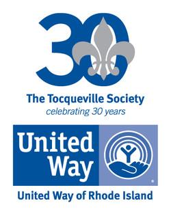 UWRI's Tocqueville Society 30th Logo