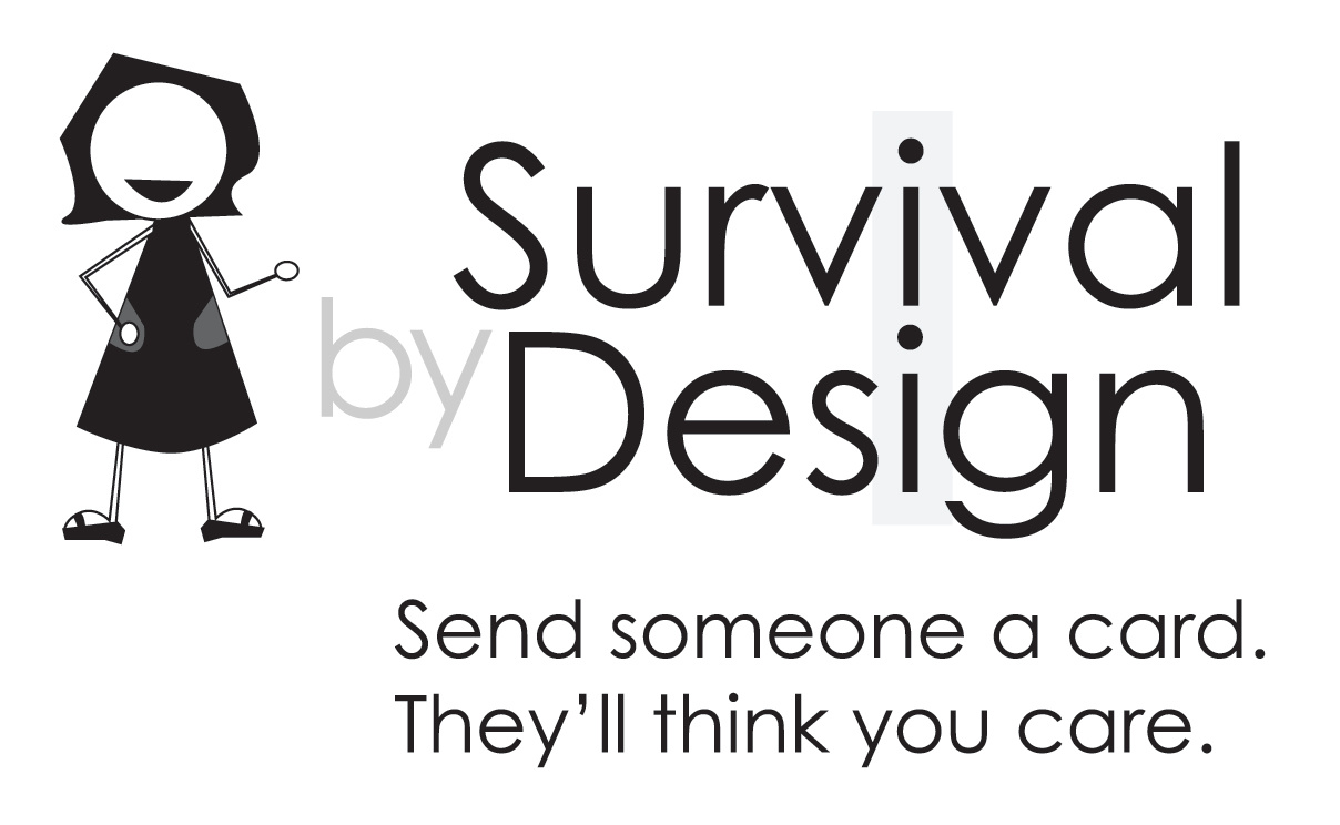 Survival By Design Cards Logo