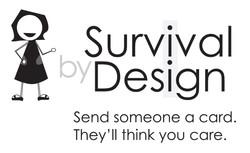 Survival By Design Cards Logo