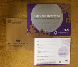 Lion Pom Invitation