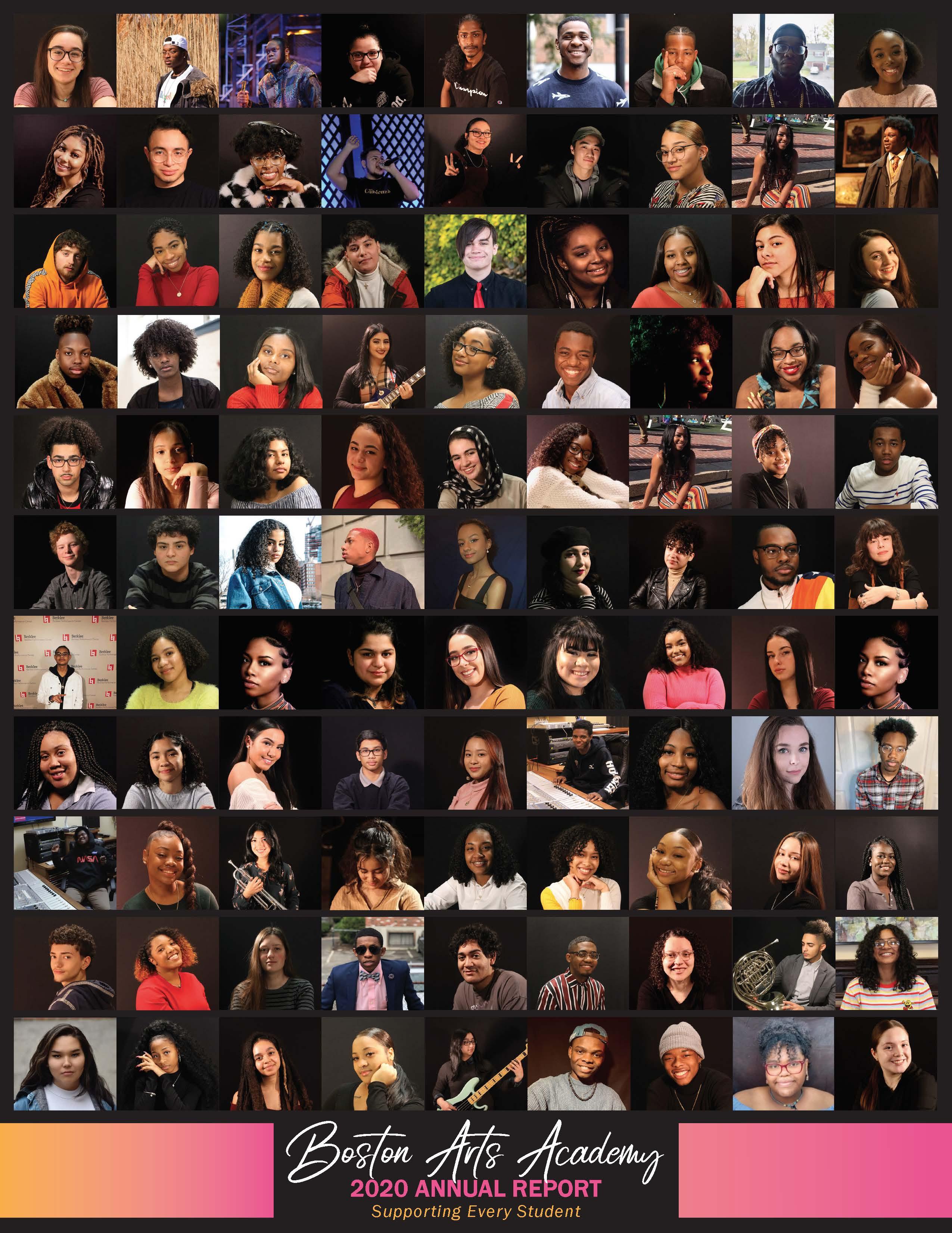 2020 Boston Arts Academy Annual Report