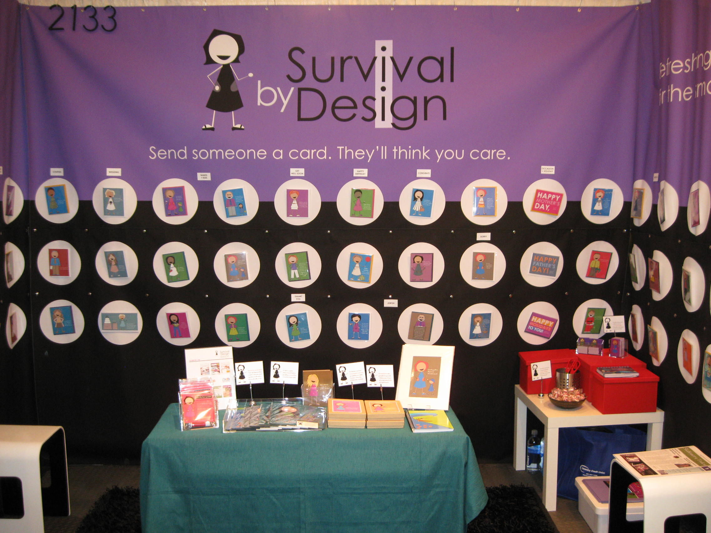 Tradeshow Booth at National Stationery Show