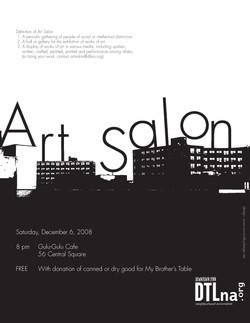Artist Salon Poster_Event Poster7