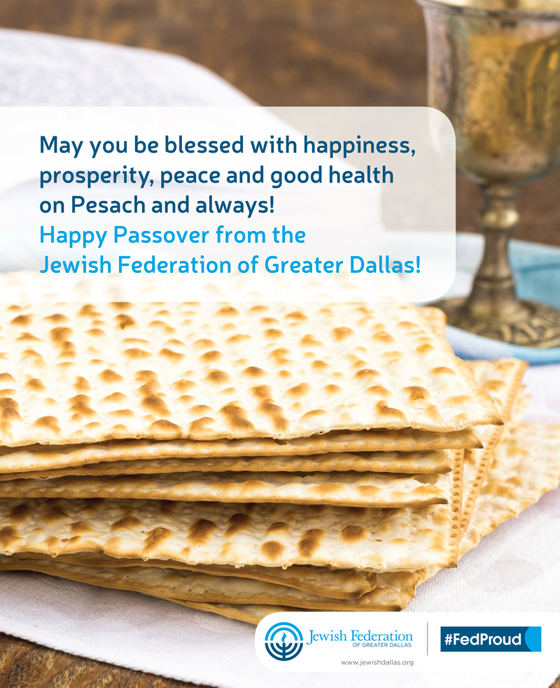 Passover Ad in Texas Jewish Post