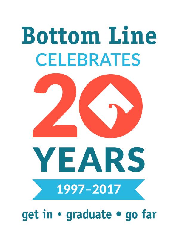 Bottom Line 20th Anniversary Logo