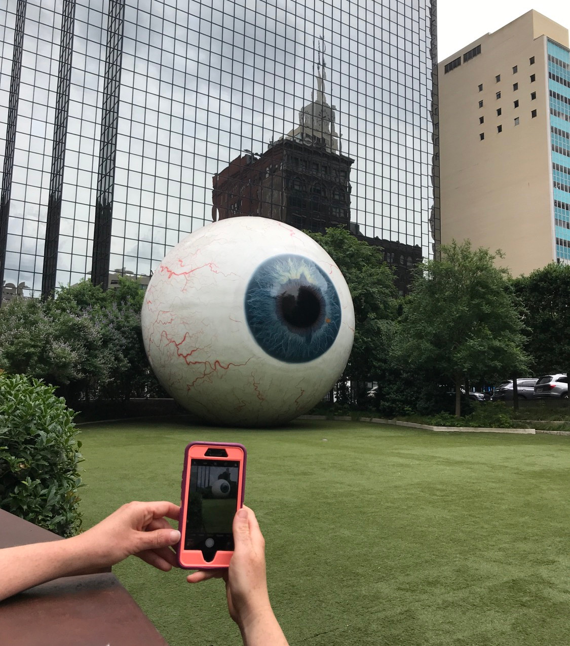The Eyeball (in large and small)