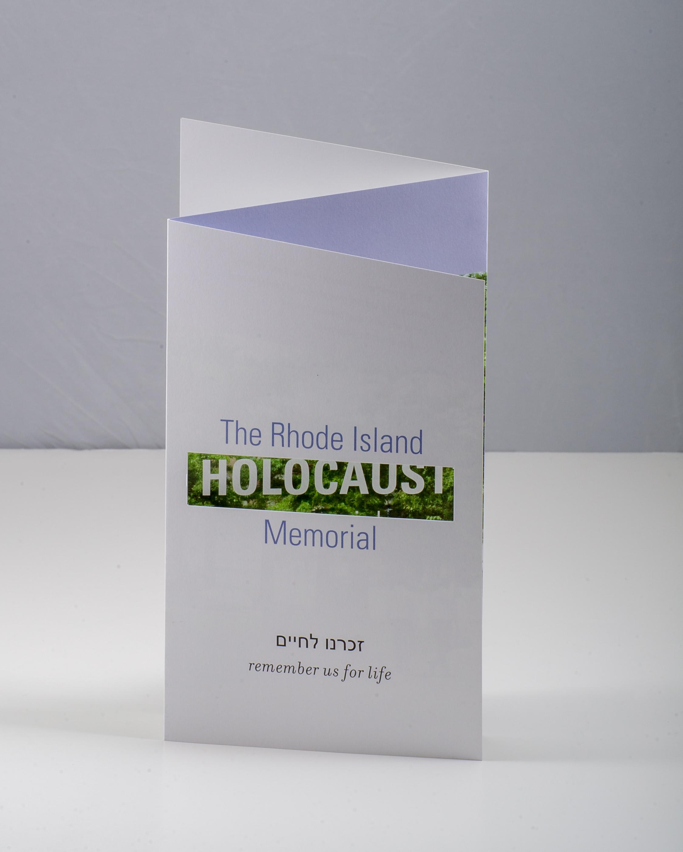 RI Holocaust Memorial Brochure