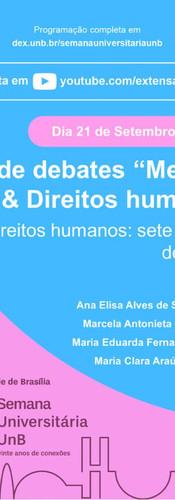 Ciclo de debate - Direitos humanos: 7 décadas de história
