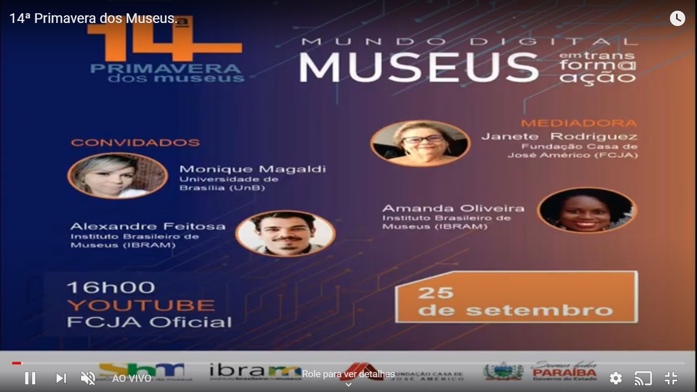 14°Primavera dos museus- Fundação Casa José Américo