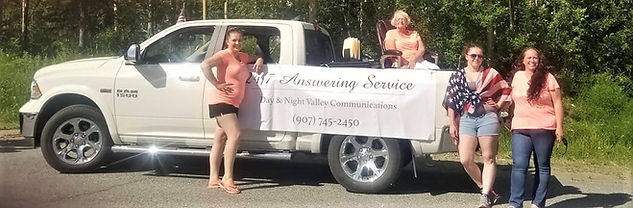 Day & Night Valley Communications 4th of July Parade 2018 in Wasilla AK