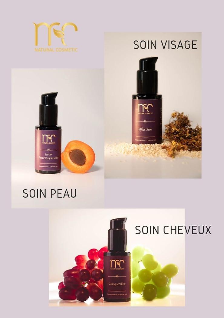 MC Natural Cosmetic, des soins naturels pour la peau et les cheveux