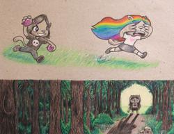 Reggie Rainbow's Crazy Adventure