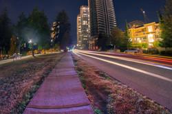 Urban Light Trails