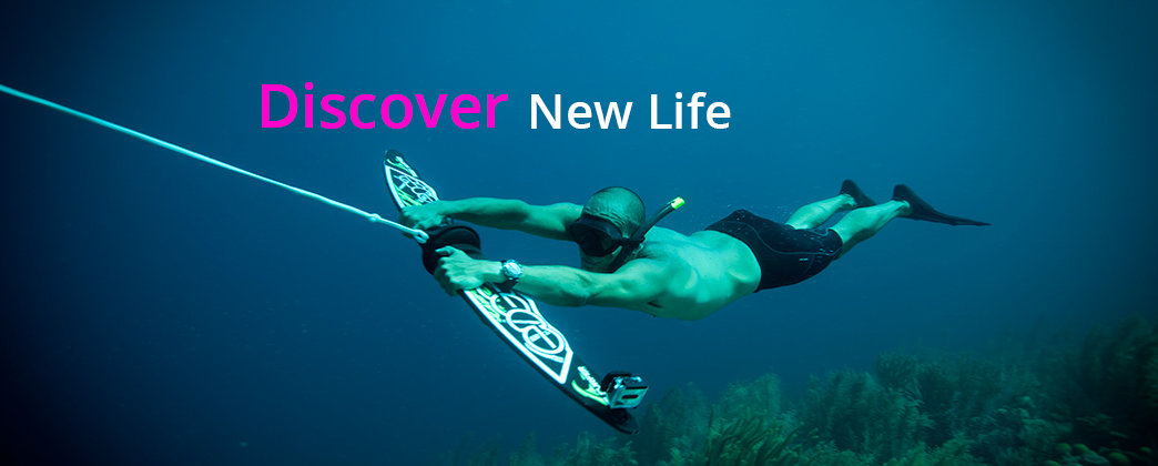 The Reef Surfer is the latest in underwater diving sports. Accessible to all abilities and easy to learn.