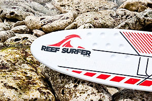 The entry level Reef Surfer with stabilising divots for extra control