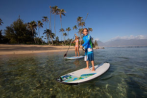We offer expert advice for all inflatable and solid stand-up paddleboards and accessories