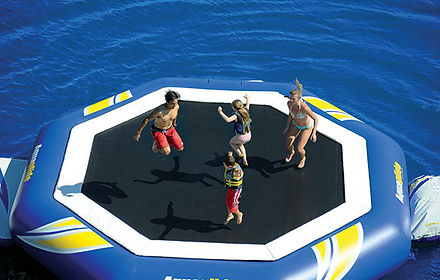 We offer good advice about the trampoline most suited to you.