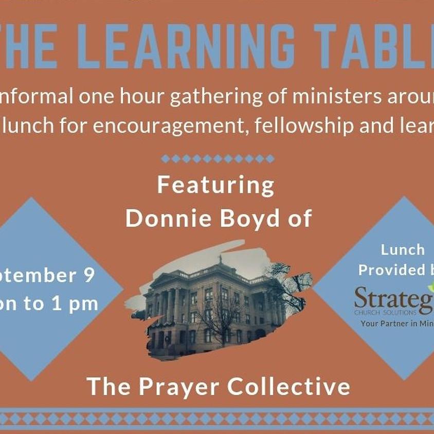 September Learning Table