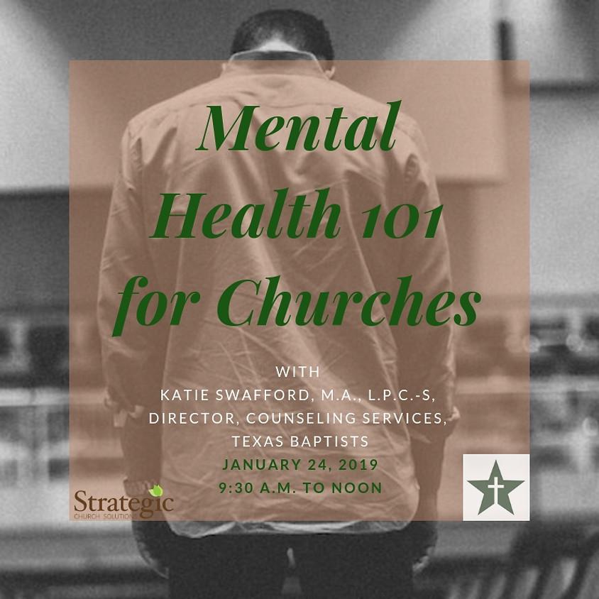 Mental Health 101 for Churches