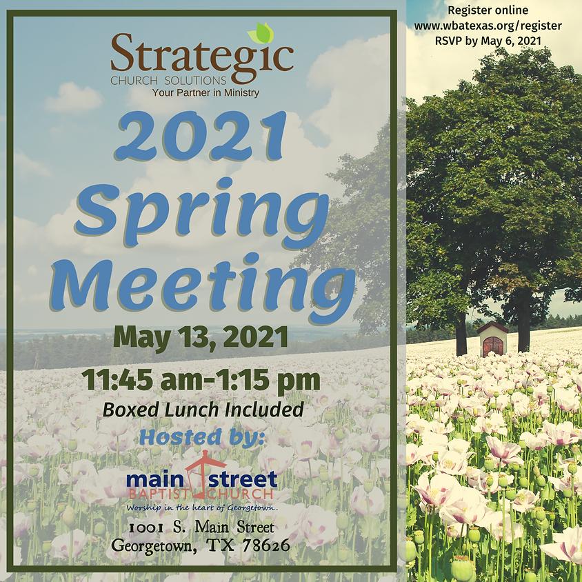 2021 Spring Partner Meeting