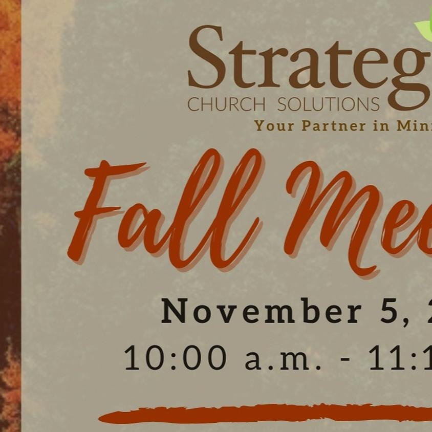 Fall Partner Meeting