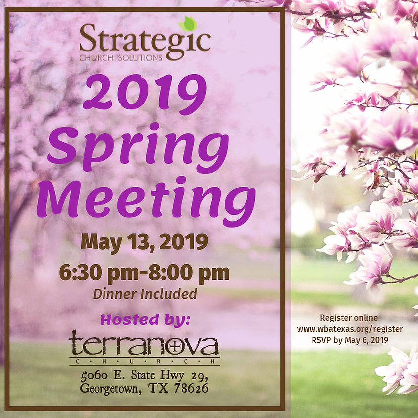 2019 Spring Meeting